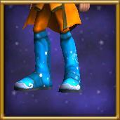 Thaumaturge's White Shoes Male