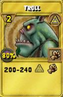Troll Treasure Card
