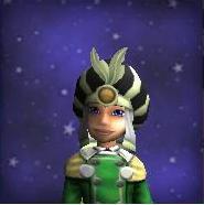 Hat KT Necromancer's Ivory Hat Female