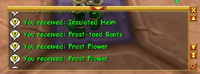 Proof of spelling of Frost-toed Boots