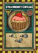 Snack Strawberry Cupcake