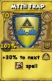 Myth Trap Treasure Card