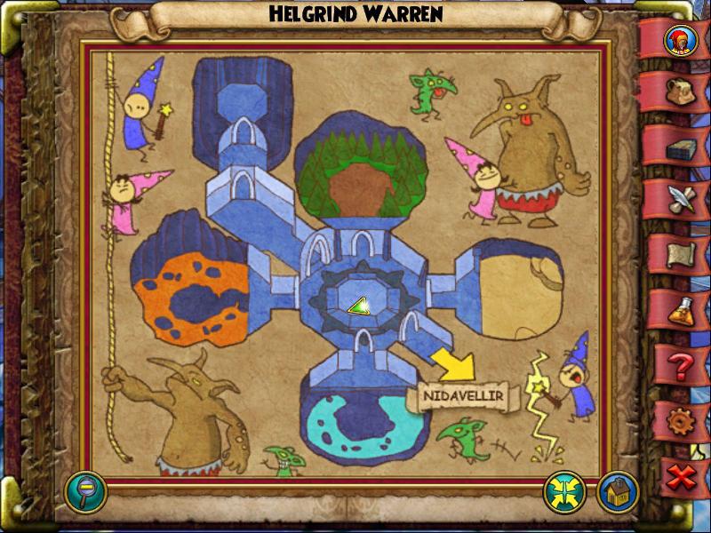 Helgrind Warren Map