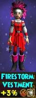 Firestorm Vestment Female