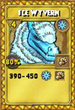 Ice Wyvern Treasure Card