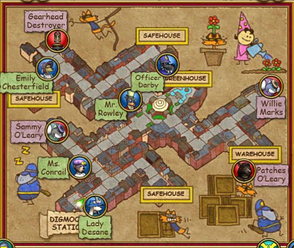 Hyde Park Map