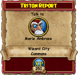 Triton Report | Wizard 101 Wiki | FANDOM powered by Wikia