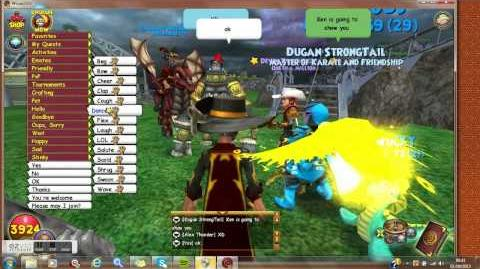 Wizard101 Run And Dance Glitch