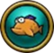 (Button) Fisch