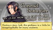 Conrad schuyler profile