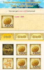 Daily login bonus
