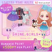 Shine girls - spring 2017