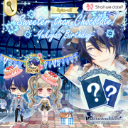 Sweeter than chocolate event announcement