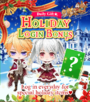 Special login bonus 4 - holiday
