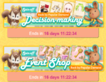 Decision making banners
