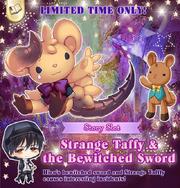 Strange Taffy event slot - top head