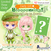 Blooooming - event announcement