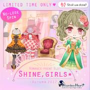 Shine girls - autumn 2017