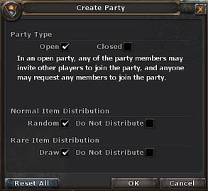 Create-party