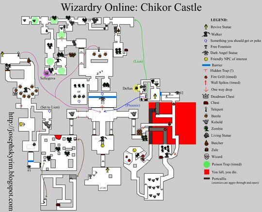 Josephsky's Chikor Map