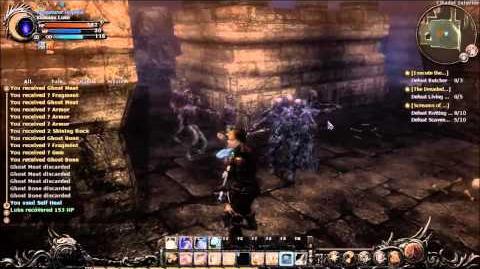 Wizardry Online Walk Through Part 13 - Chikor Castle Farming Demo Part 1