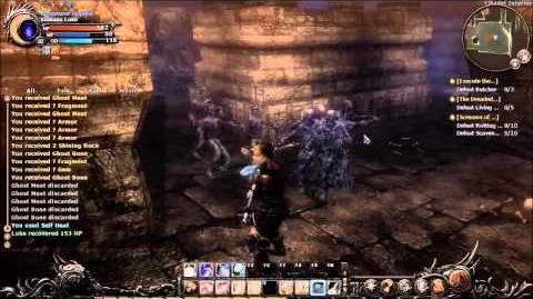 Wizardry Online Walk Through Part 13 - Chikor Castle Farming Demo Part 1
