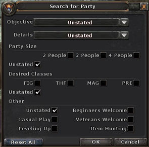 Party-search