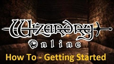 Wizardry Online - How To - Learning The Basics At Launch