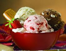 Tasty ice creams