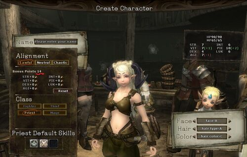 Create-character-yaviey