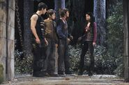 Justin, max, mason and alex wizards vs. werewolves