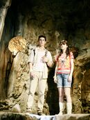Alex and justin in the cave 2