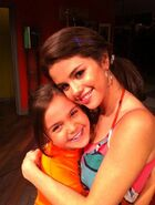Selena gomez and bailee madison dancing with the angels