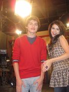 Gregg and selena behind the scenes Alex Tells the World