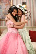 Selena and Jennifer Quinceañera Behind the scenes