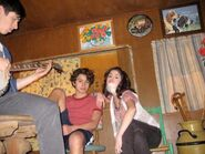 Jake, selena and David 2x27