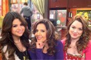 Selena, maria and jennifer behind the scenes alex vs alex
