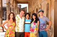 Russo's family for the movie 2