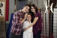 David, maddison and selena behind the scenes Daddy's Little Girl