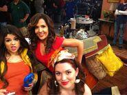 Selena, maria and jennifer behind the scenes alex vs. alex