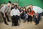 David h., gregg, selena, jake, maria and david d. behind the scenes Wizards Exposed