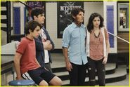 Max, justin, mason and alex Wizards Unleashed