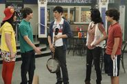 Harper, zeke, justin, alex and max Wizards Unleashed