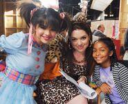 Doll house selena and jennifer behind the scenes