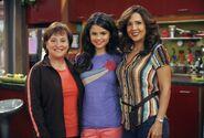 Quinceañera behind the scenes selena, belita and theresa