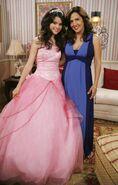 Selena and Maria Quinceañera Behind the scenes