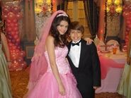 Selena and jake quinceañera behind the scenes
