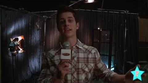 David Henrie spills out some secrets of this episode!