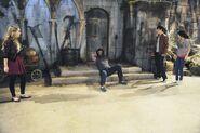 Juliet, mason, justin and alex Wizards vs. Werewolves part 2