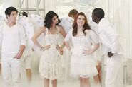 Justin, alex, harper and zeedrick Dancing with Angels